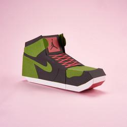 Paper Sneaker AJ1 68