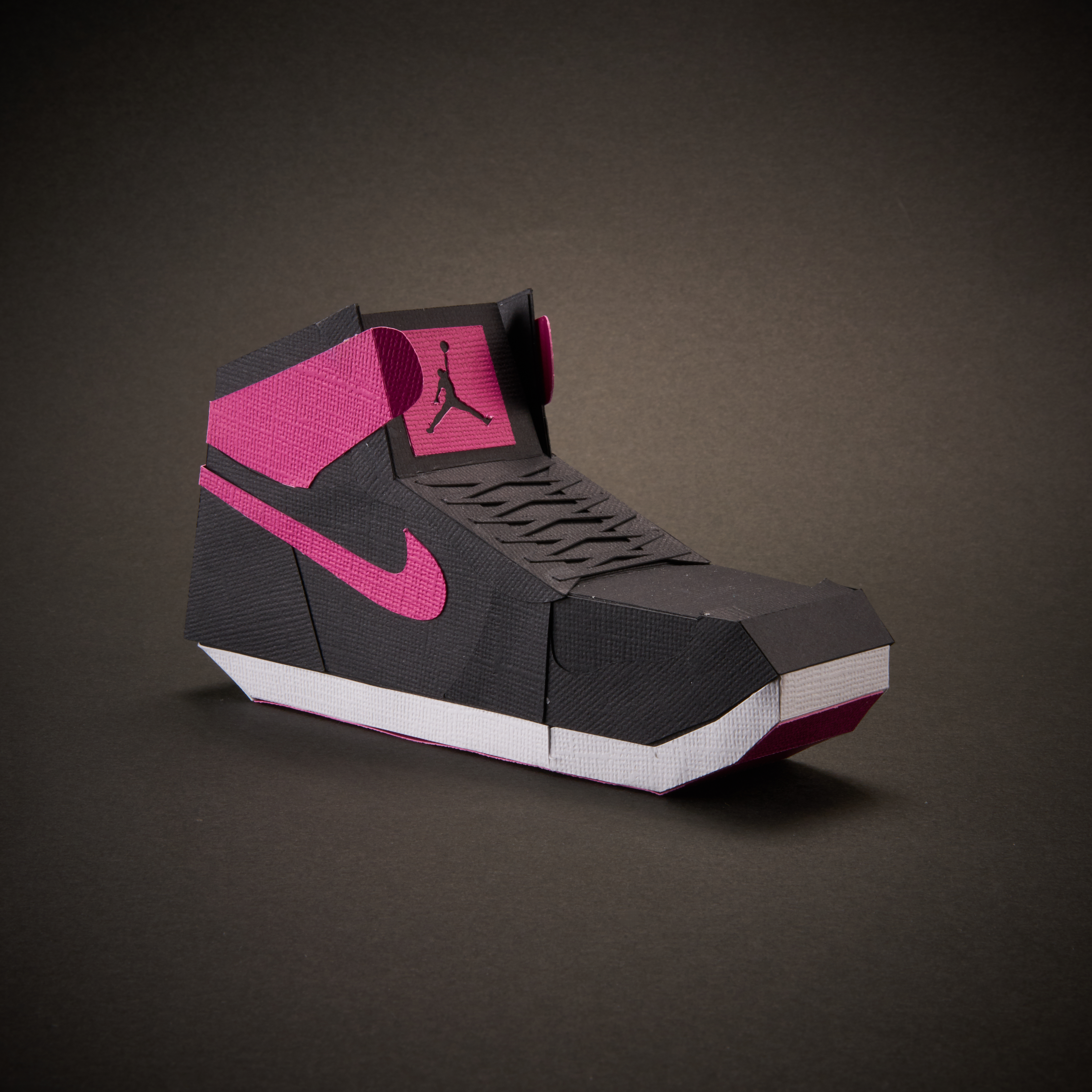 Paper Sneaker AJ1 4