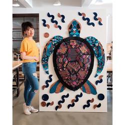 KFC Sea Turtle Art Natalie Wong