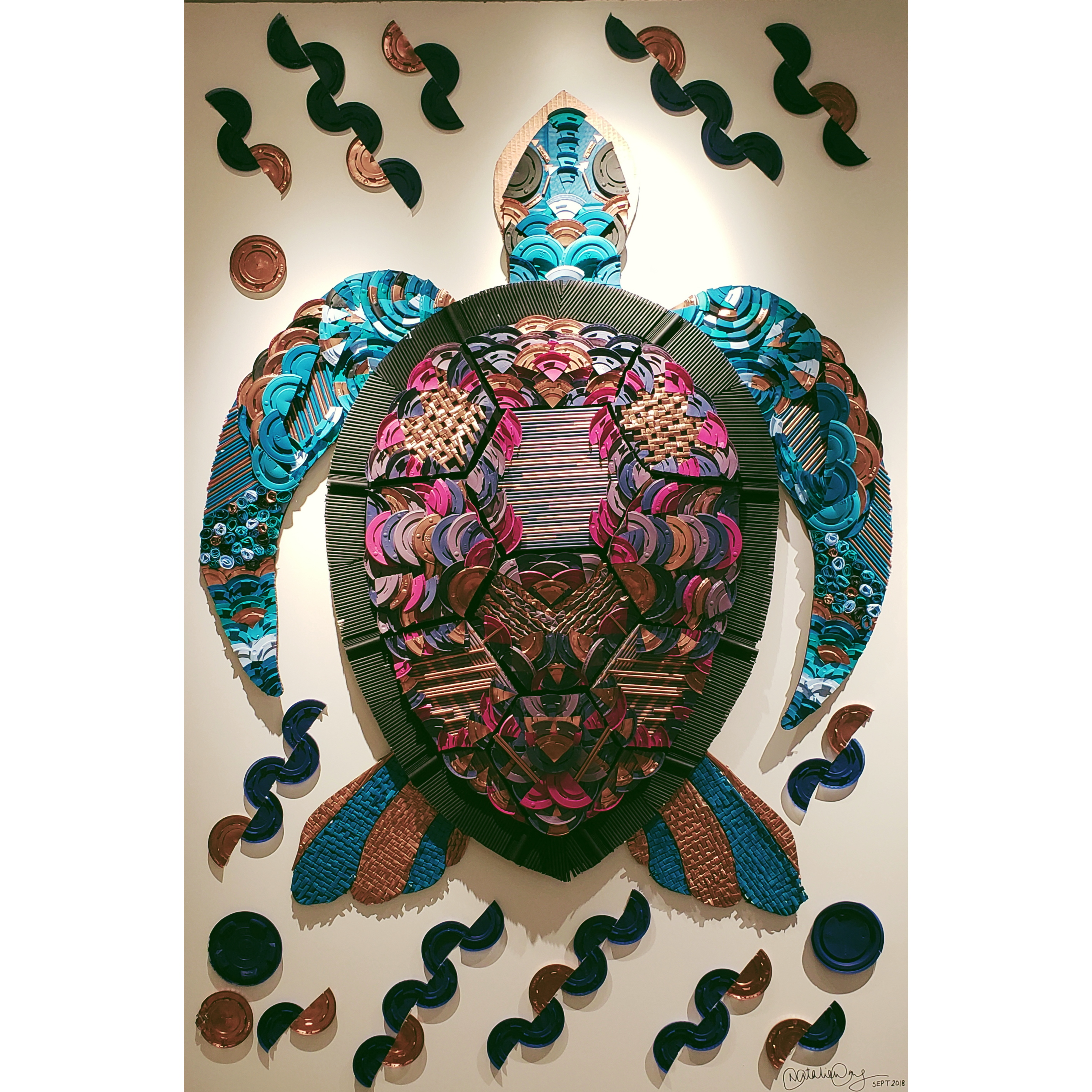 KFC Sea Turtle Art Natalie Wong