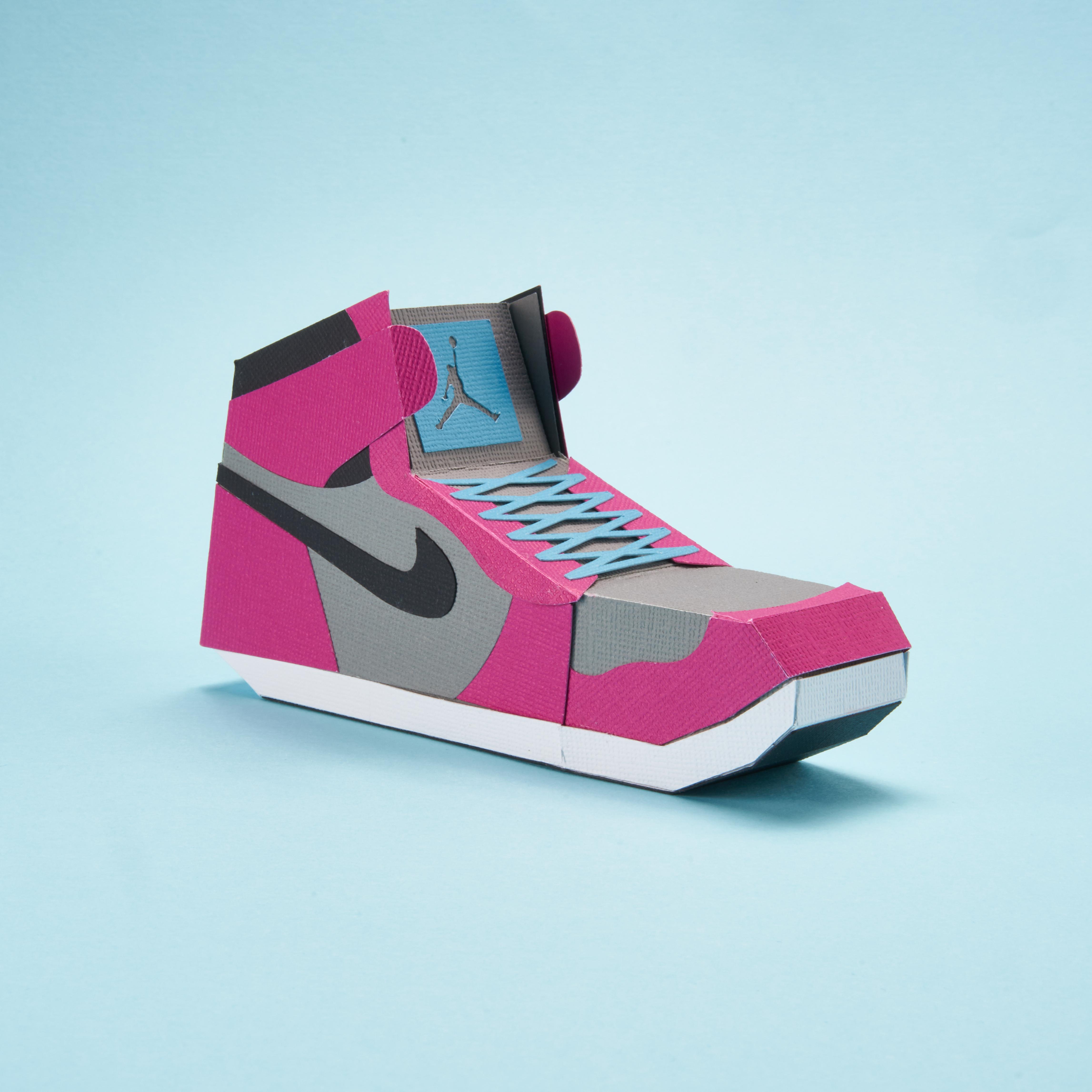 Paper Sneaker AJ1 10