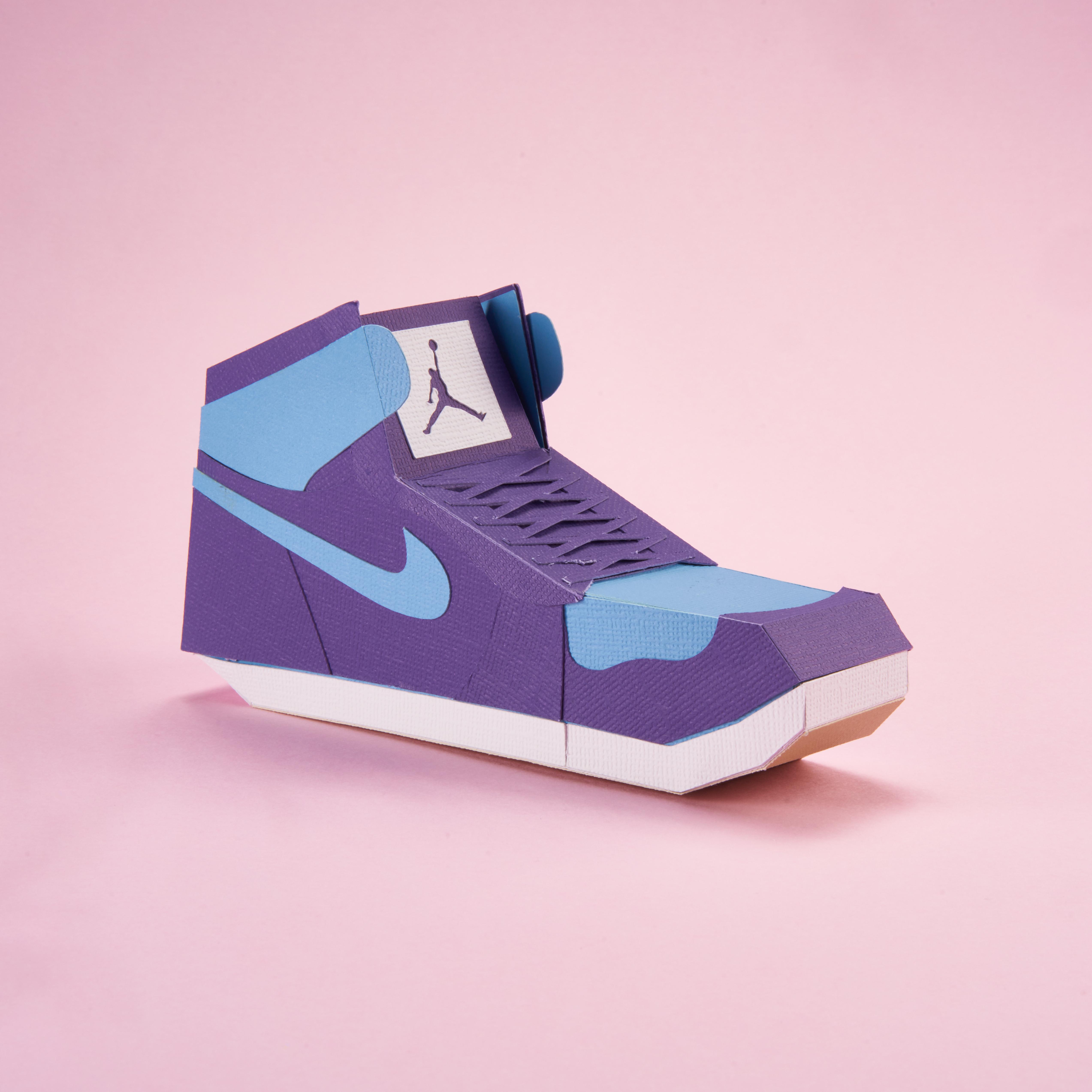 Paper Sneaker AJ1 66