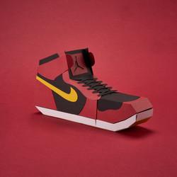 Paper Sneaker AJ1 37