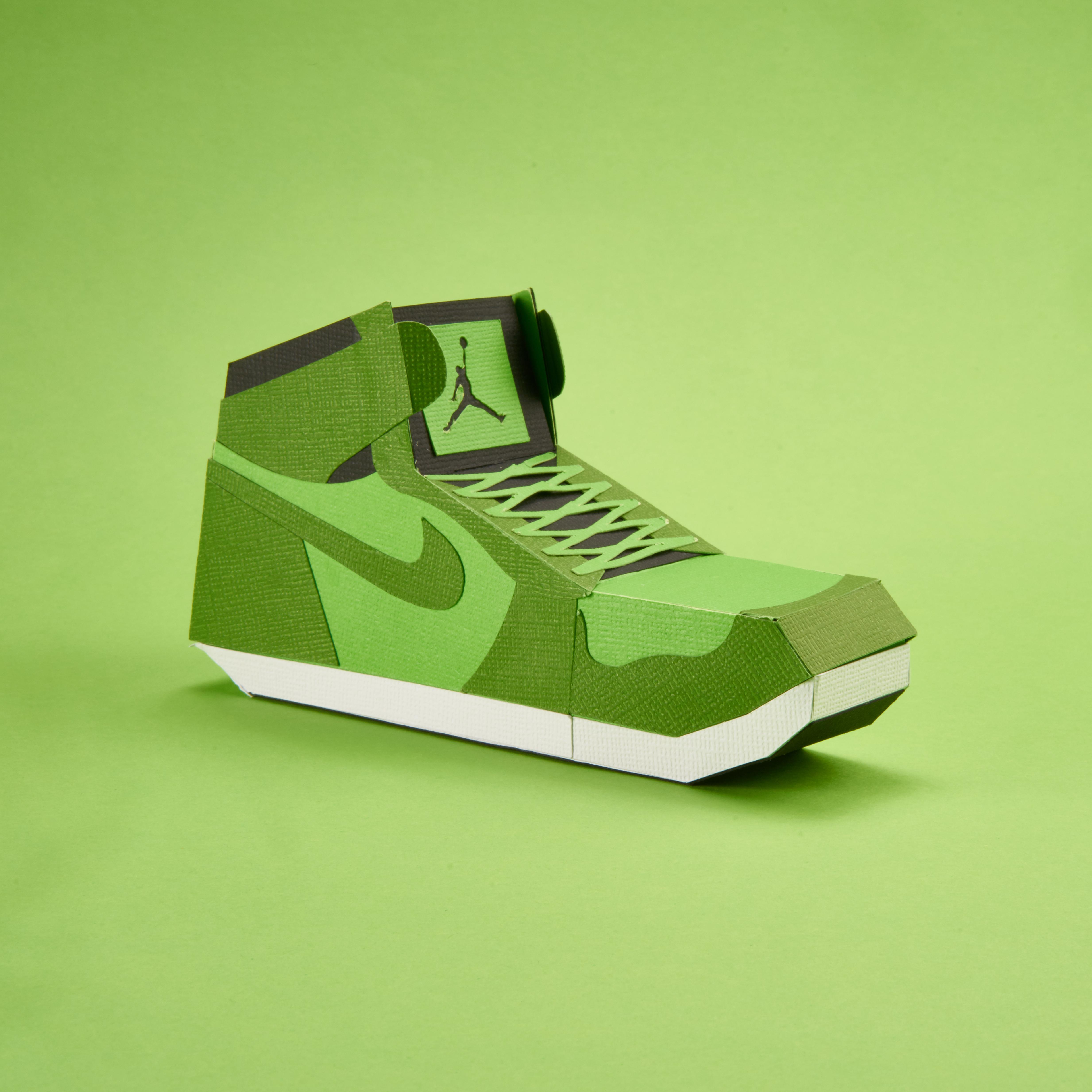 Paper Sneaker AJ1 90