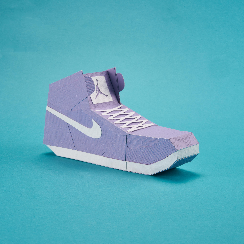 Paper Sneaker AJ1 30