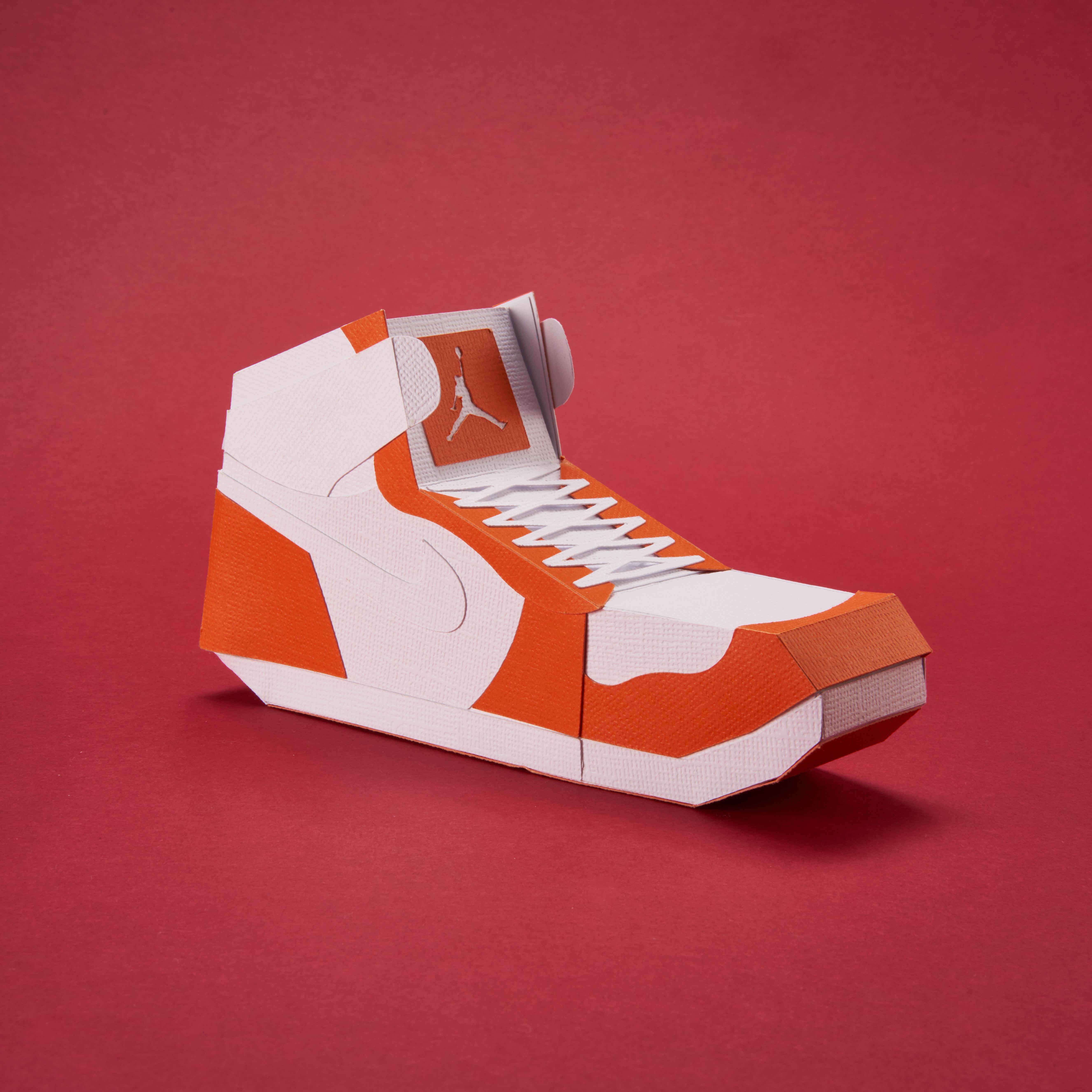 Paper Sneaker AJ1 31