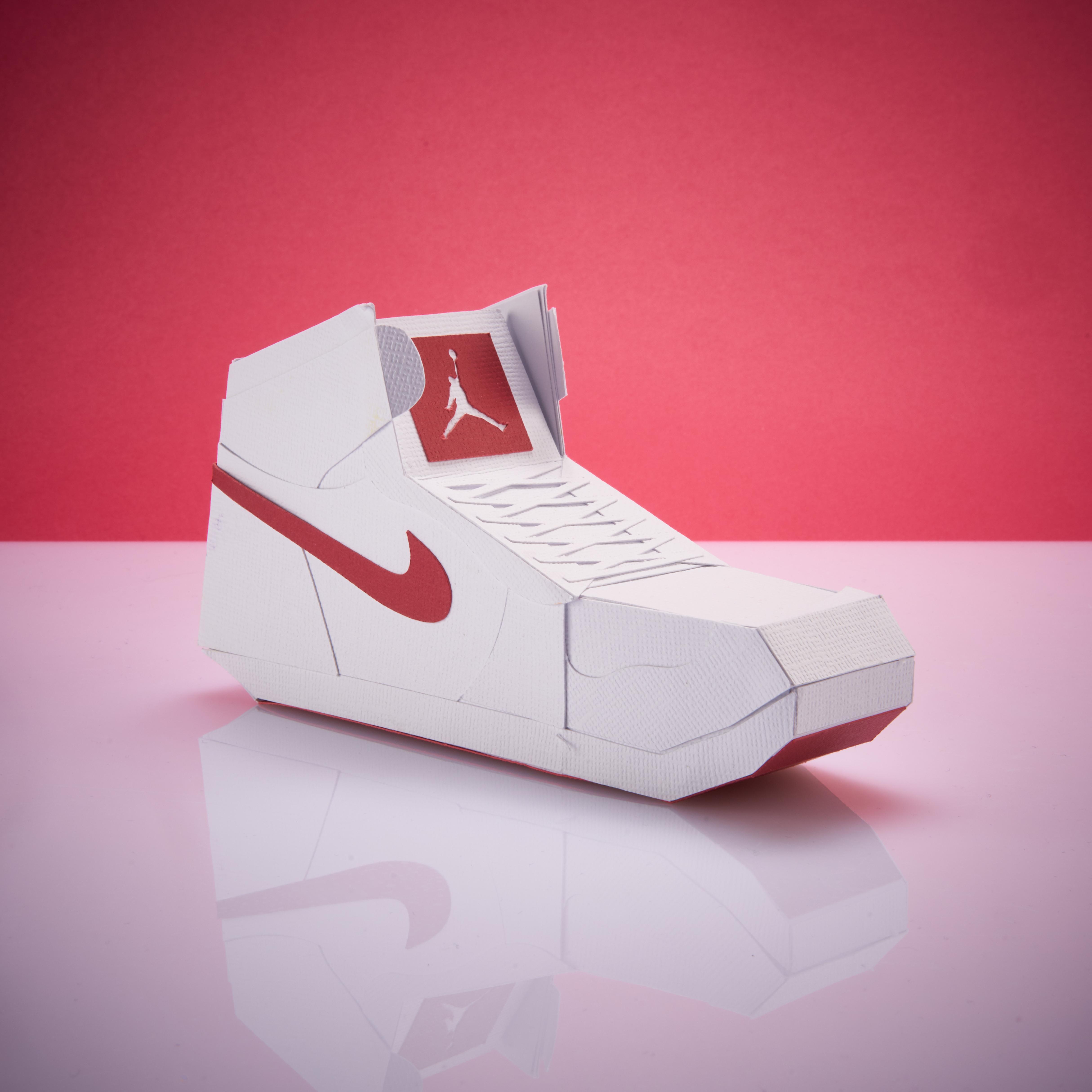 Paper Sneaker AJ1 85