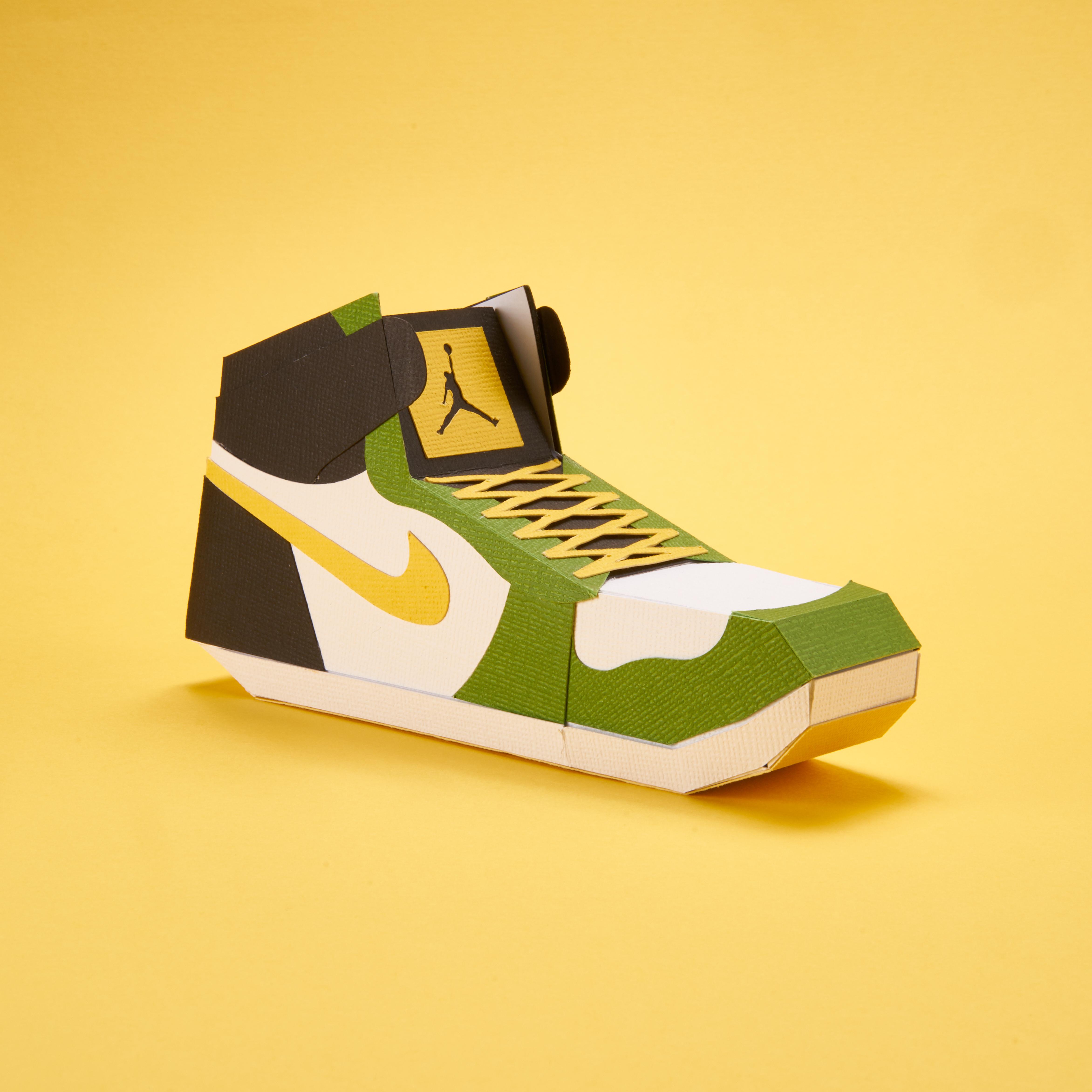 Paper Sneaker AJ1 72