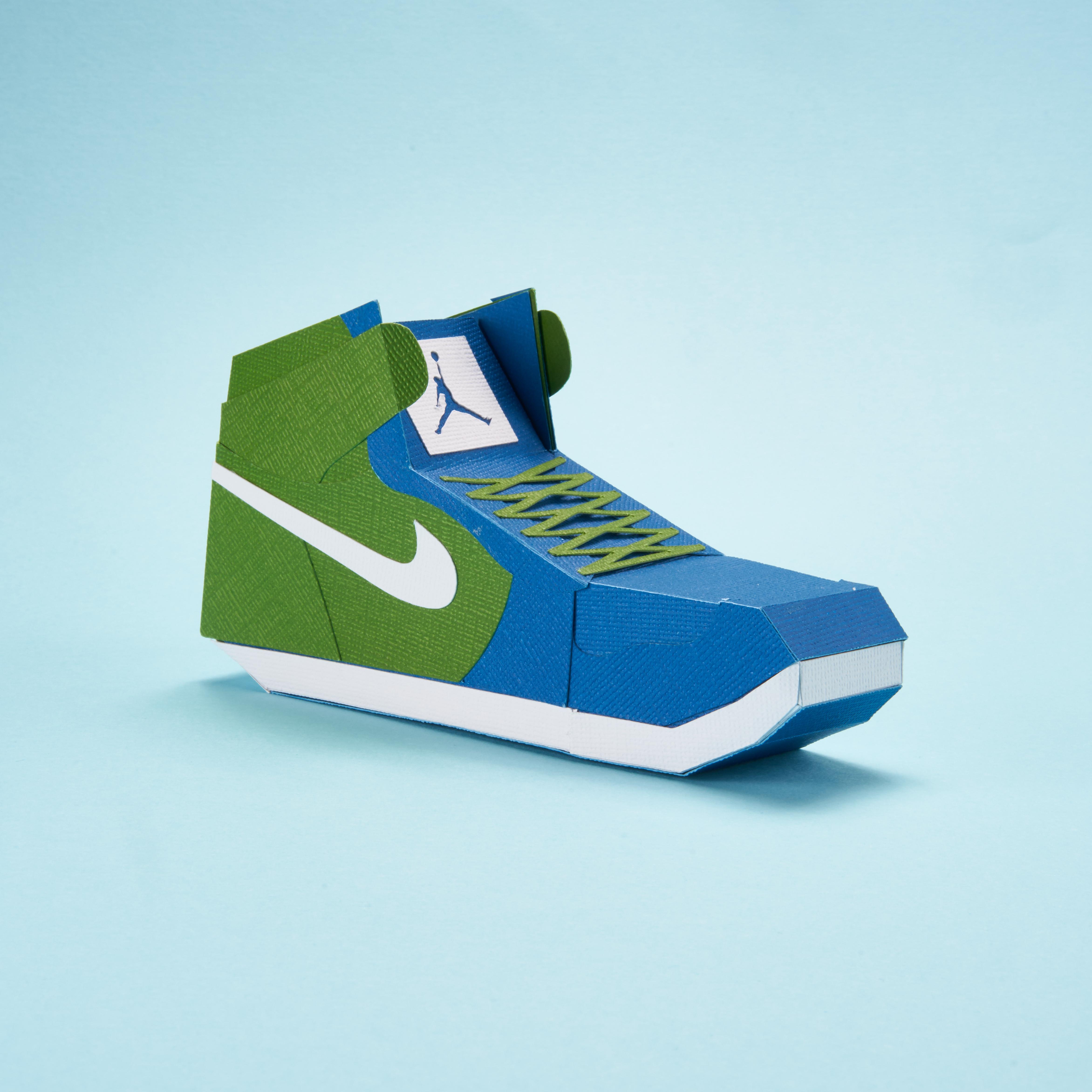 Paper Sneaker AJ1 9