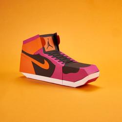 Paper Sneaker AJ1 19