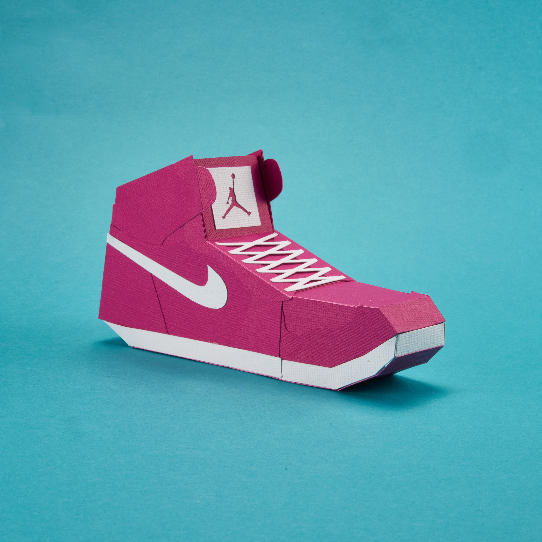 Paper Sneaker AJ1 98