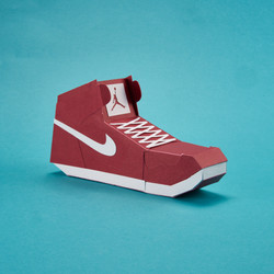 Paper Sneaker AJ1 100
