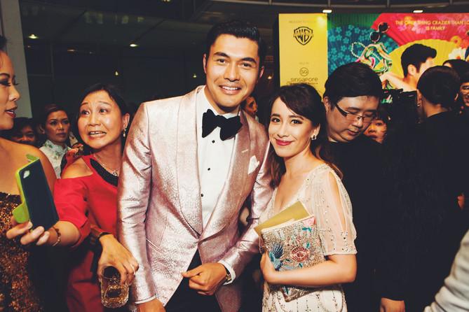 CRAZY RICH ASIANS Singapore Premiere