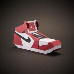 Paper Sneaker AJ1 7