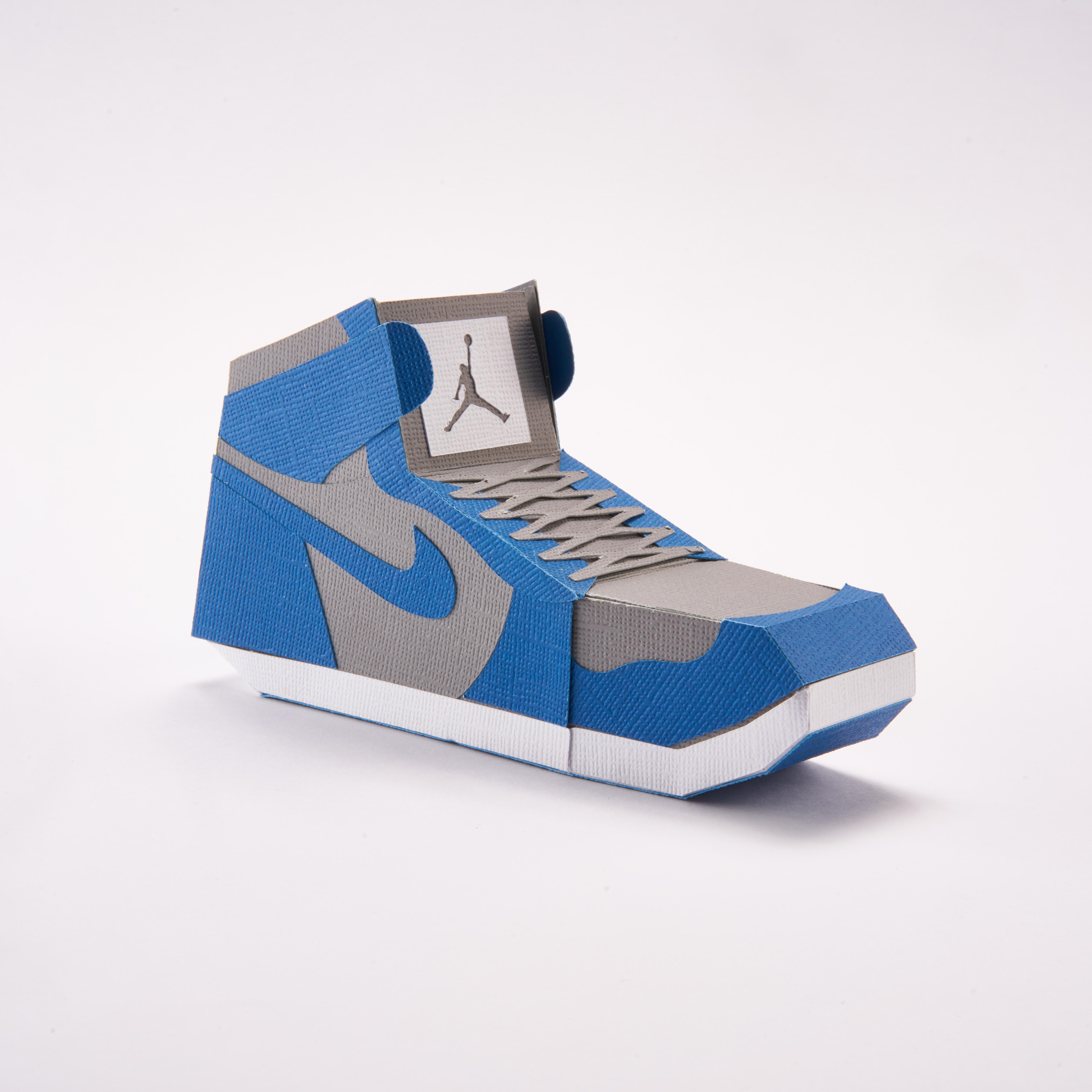 Paper Sneaker AJ1 52