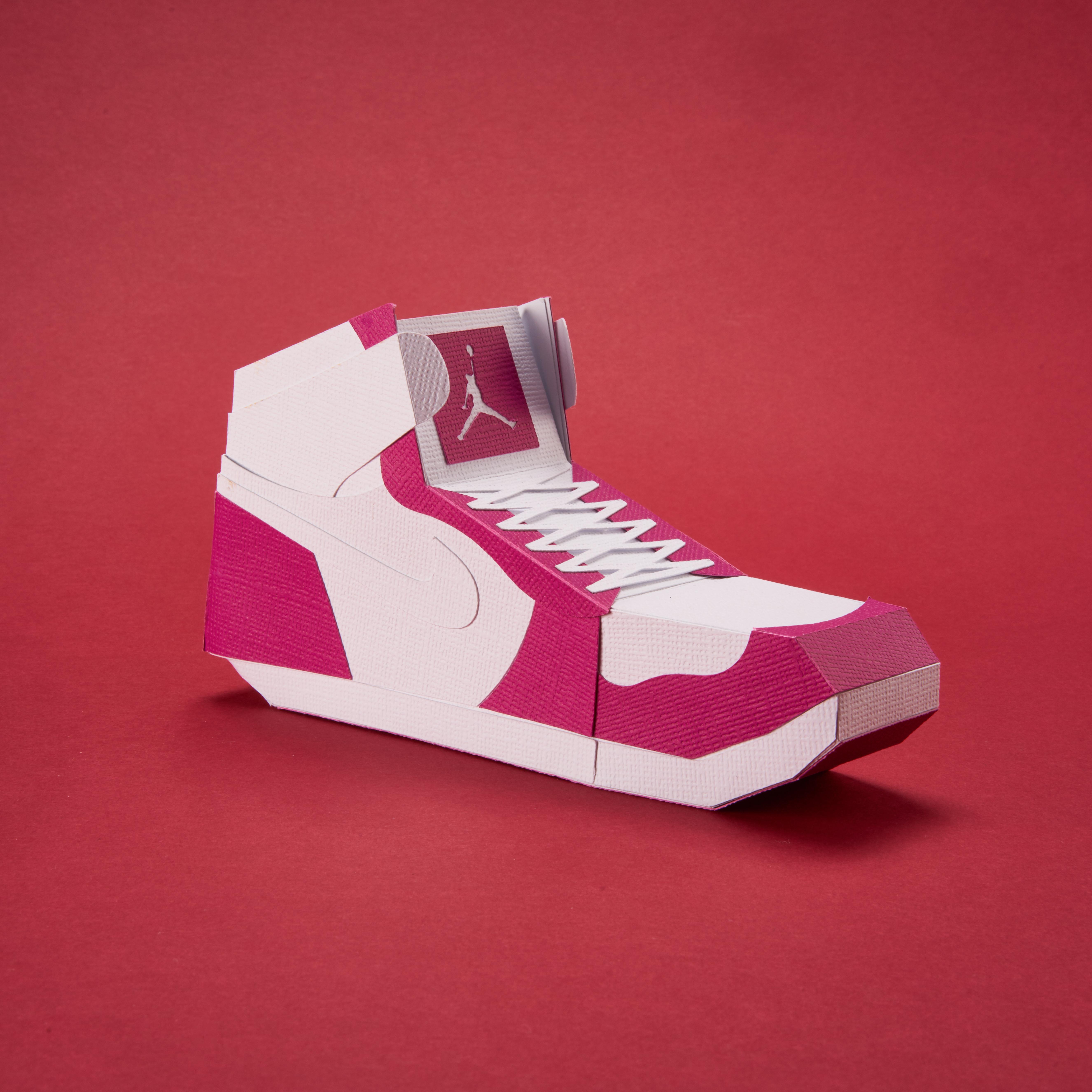 Paper Sneaker AJ1 32