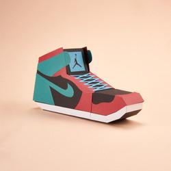 Paper Sneaker AJ1 91