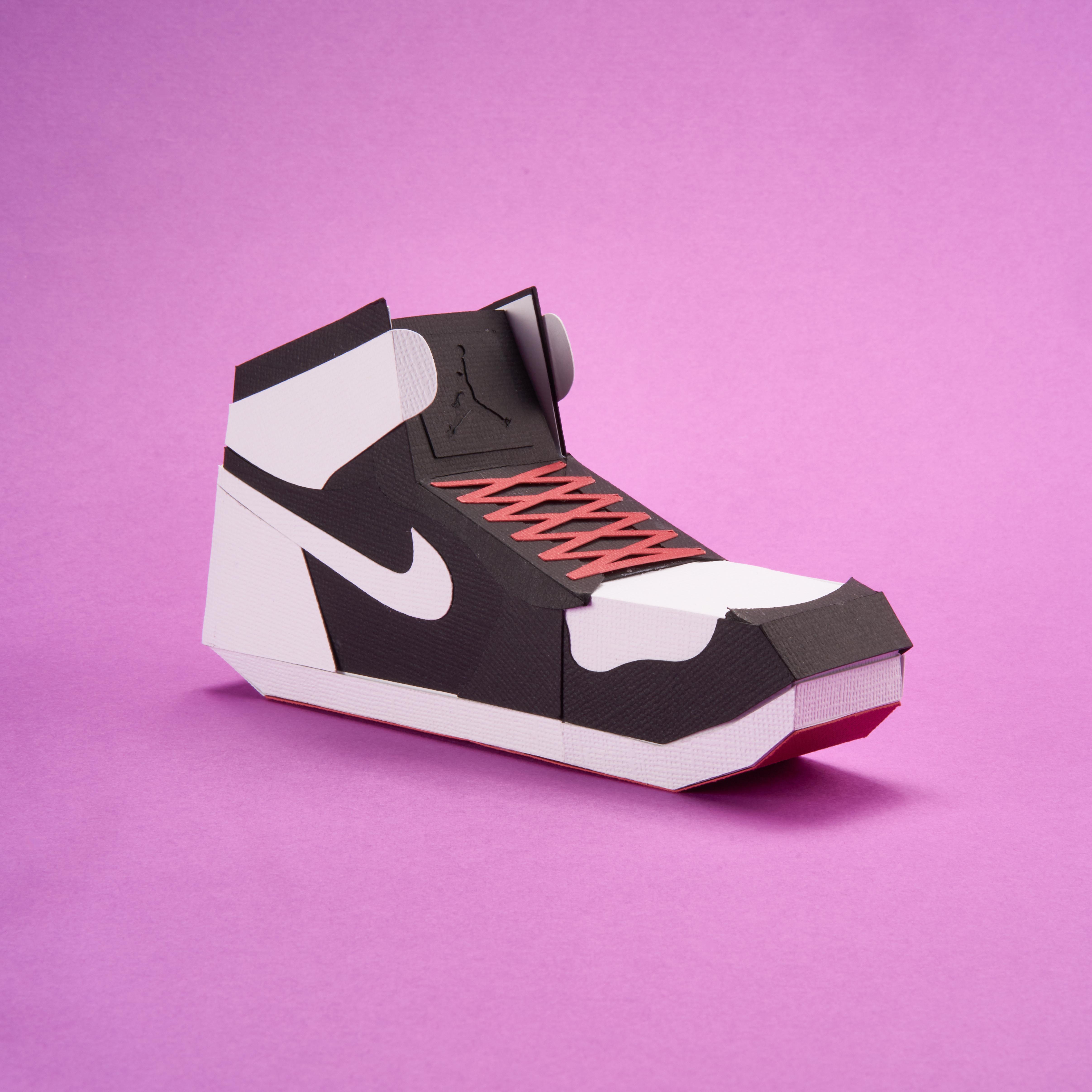 Paper Sneaker AJ1 13