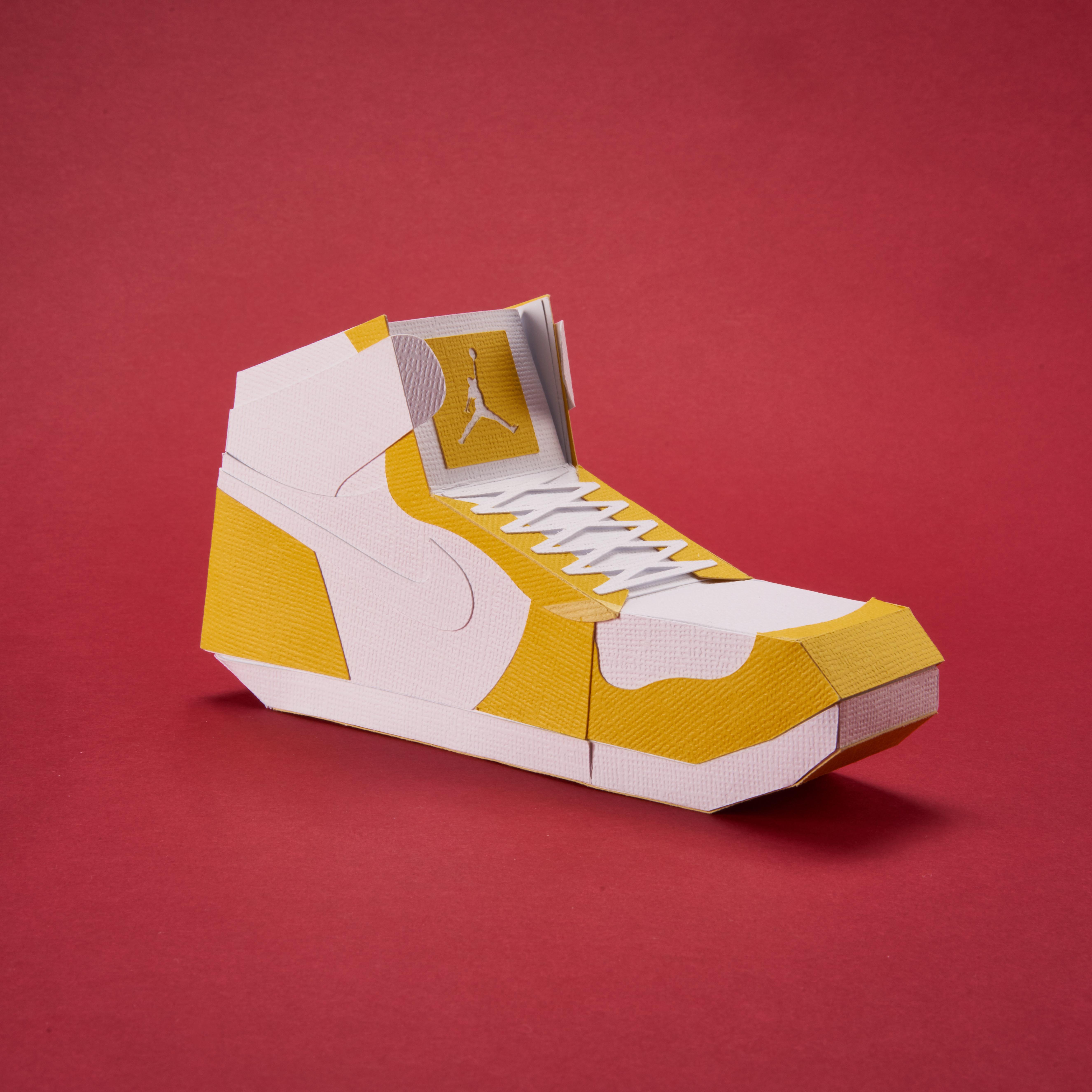 Paper Sneaker AJ1 34