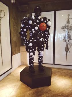 Lebron James Soldier Sculpture