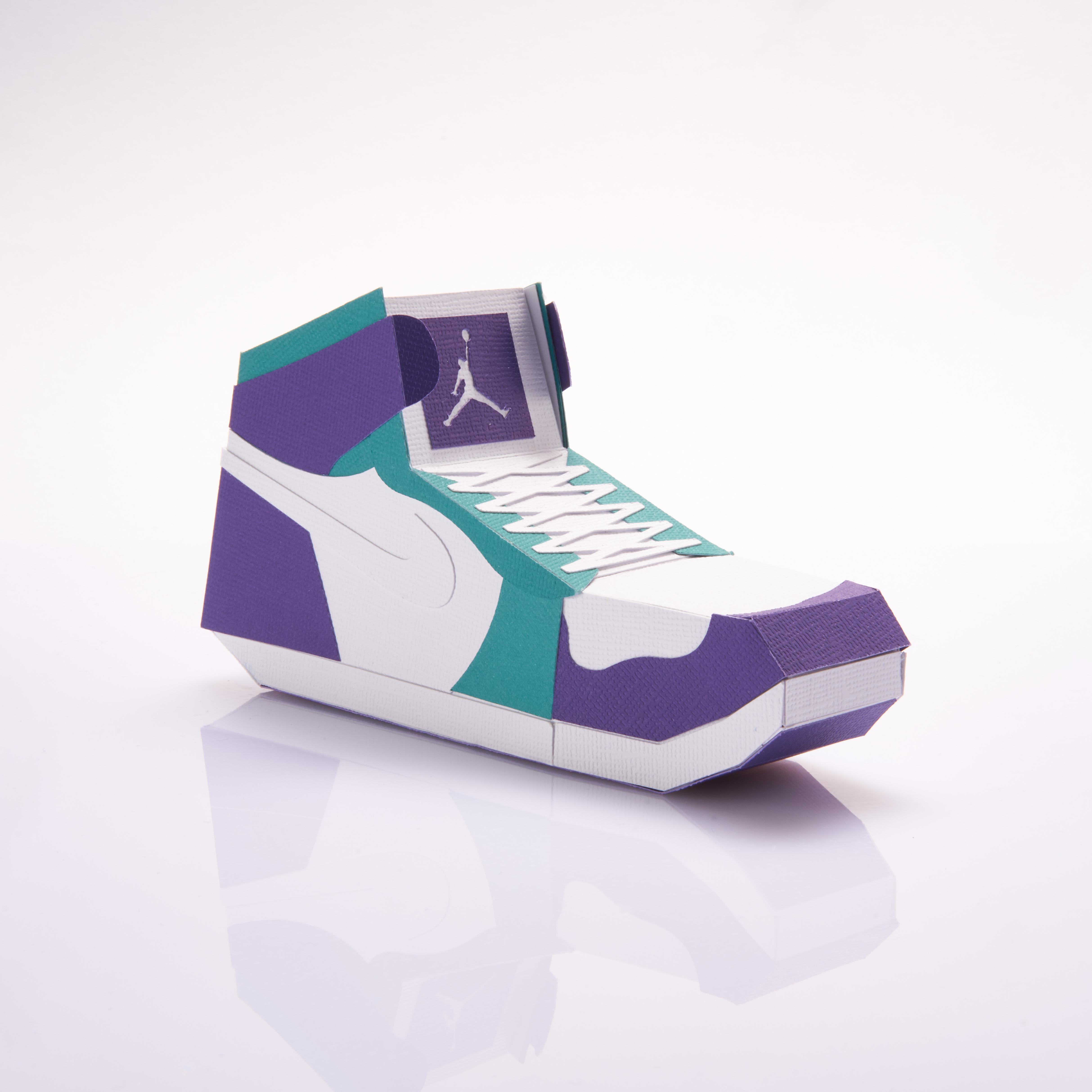 Paper Sneaker AJ1 58
