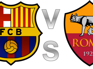 Barcelona 2 - 1 AS Roma