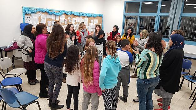 ערב הורים בבית הספר הדמוקרטי בפרדס ס חנה