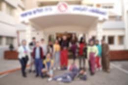 תמונה קבוצתית של ליצנים רפואיים