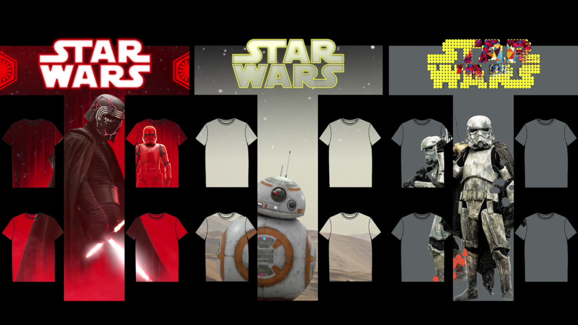 Star Wars Porjection