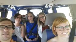 """Anreise im """"Tour-Bus"""" :)"""