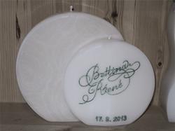 Hochzeitskerze exquisit