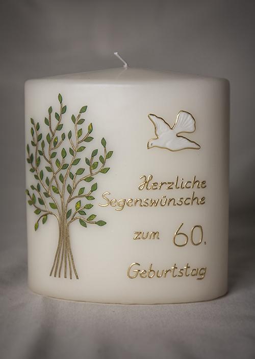 Kerze Geburtstag Lebensbaum