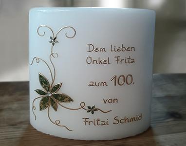 Geburtstagskerze 100er