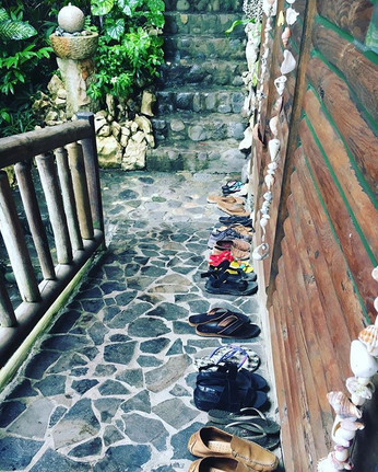 Yoga Student's shoes