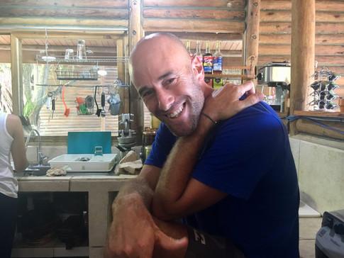 Yoav; hotel owner, chef, surfer, yoga teacher