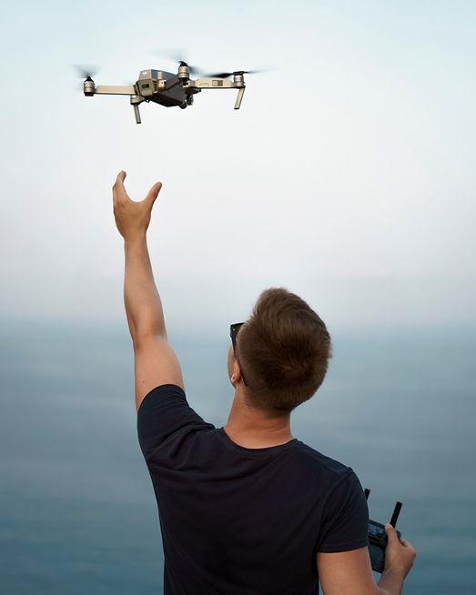 Hochzeitsfilm in Potsdam mit Drohne