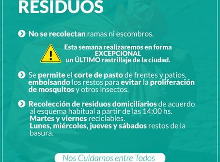Covid-19 | Recolección de residuos