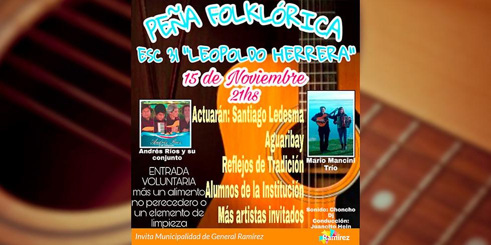 "Peña Folklórica | Escuela 31 ""Leopoldo Herrera"""