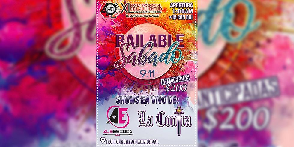 XL Fiesta Provincial de la Juventud | Sábado Bailable