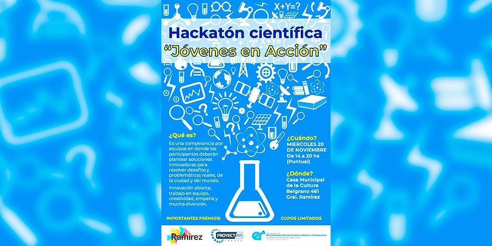 Hackatón Científica | Jóvenes en Acción