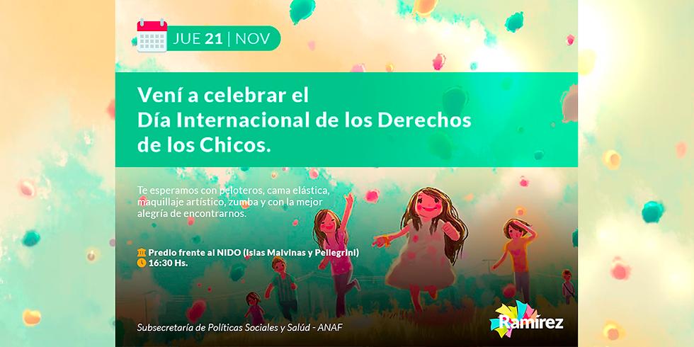 Celebración | Día Internacional de los Derechos de los Chicos