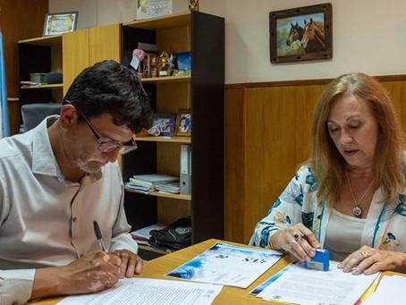 Firma de convenio con la Facultad de Ciencias de la Vida y la Salud