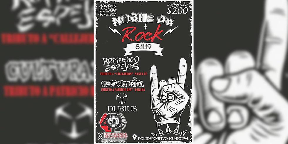 XL Fiesta Provincial de la Juventud | Noche de Rock