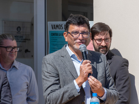 Gustavo Vergara Inauguró el Punto Digital