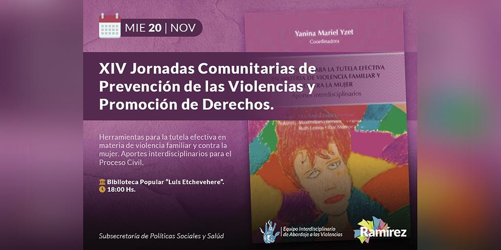 XIV Jornadas Comunitarias de Prevención de las Violencias y Promoción de Derechos