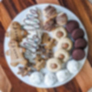 holiday cookie platters are now availabl