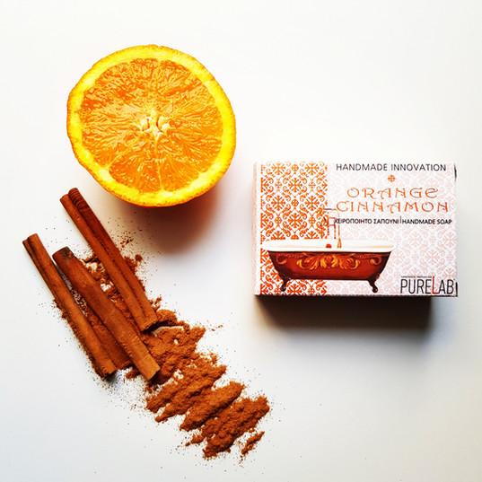 Orange Cinnamon Soap