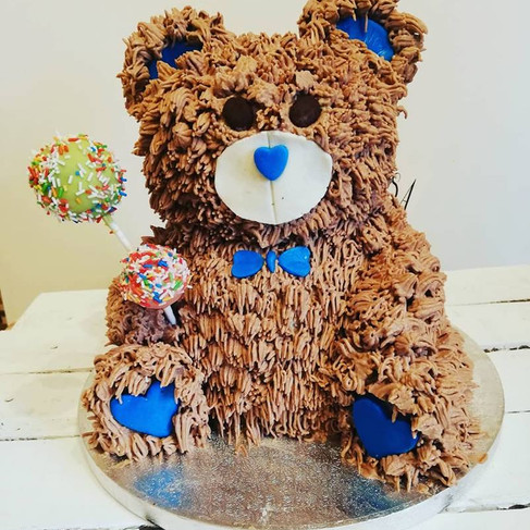 Gâteau ourson - Cake bear