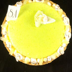 Tarte citron vert coco