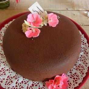 Entremets chocolat noix de coco sans lactose